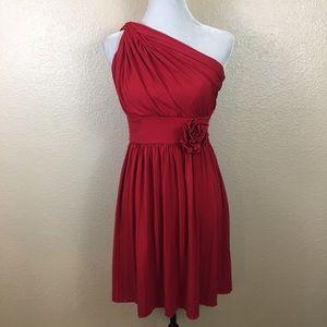 Max & Cleo red dress